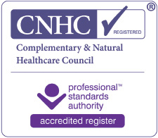 registered member of Complementary & Natural Healthcare Council