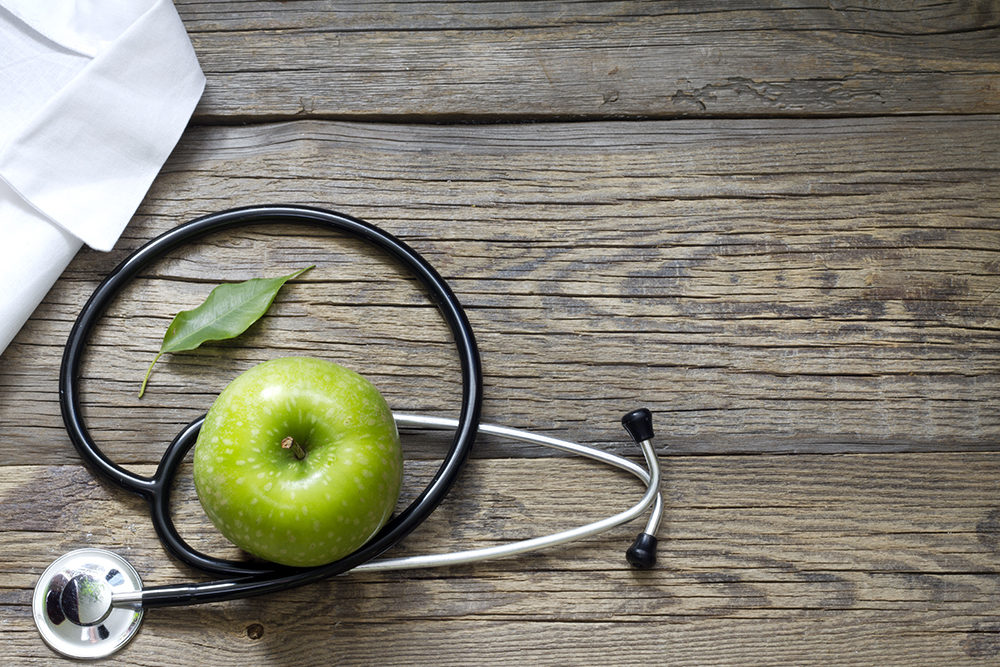 apple and stethoscope - what is functional medicine apple nutritional